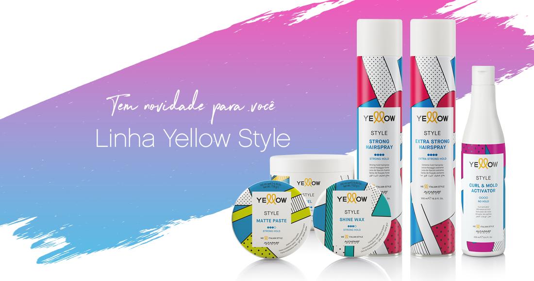 Yellow Professional lança linha de finalização com ingredientes naturais image